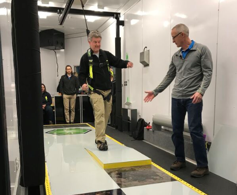 Slip Simulator Training for the Western Virginia Water Authority